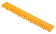 Боковой элемент обрамления с замками, цвет Жёлтый